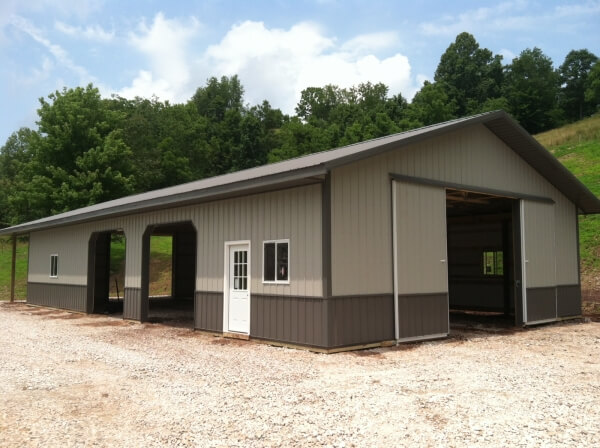 Gallery: Pole & Horse Barn Projects Near Spencer WV | Eastern Buildings - 91613_001