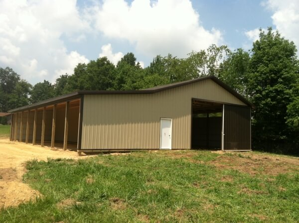 Horse Barn Builders West Union WV - Eastern Buildings - 91613_006
