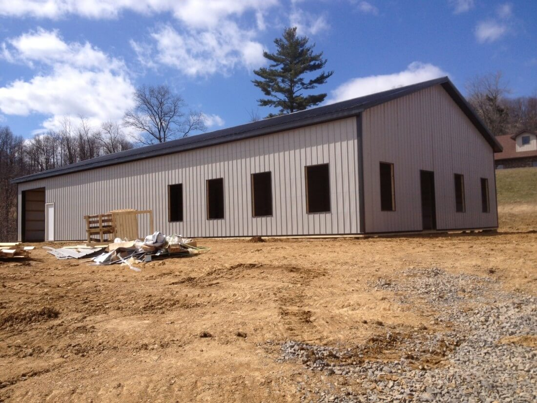 Gallery: Pole & Horse Barn Projects Near Spencer WV | Eastern Buildings - IMG_03231