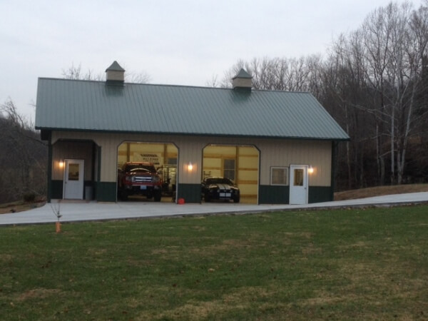 Pole Barn Garage Clarksburg WV - Eastern Buildings - scott2